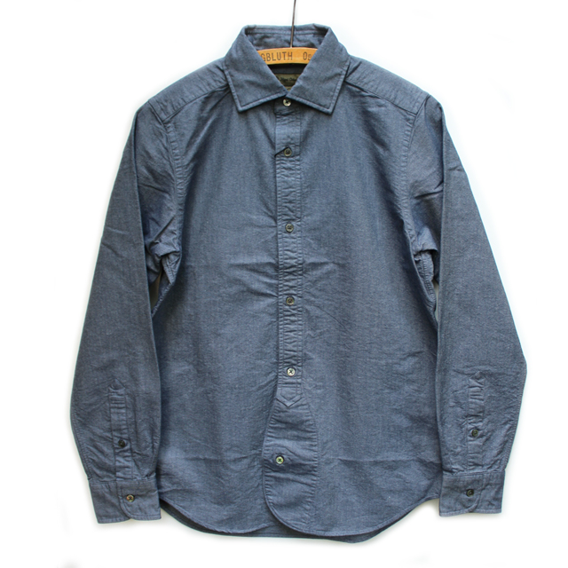 648c43134843 NIGEL CABOURN British Officers Shirt – Navy