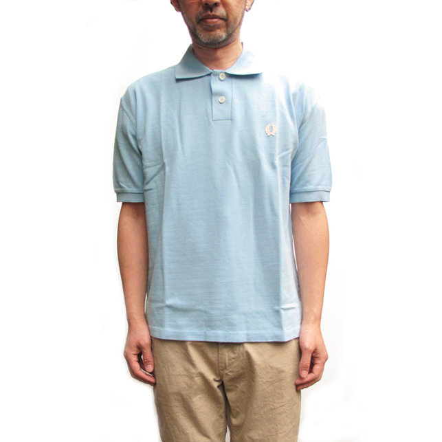 36fd30ad8170 SALE 40% OFF – FRED PERRY x NIGEL CABOURN 1952s Pique Polo Shirt – Sky Blue